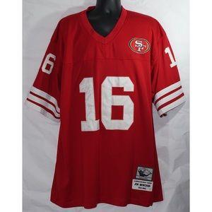 free shipping 8ac46 1ad18 Joe Montana San Francisco 49ers Jersey Size 54 XXL